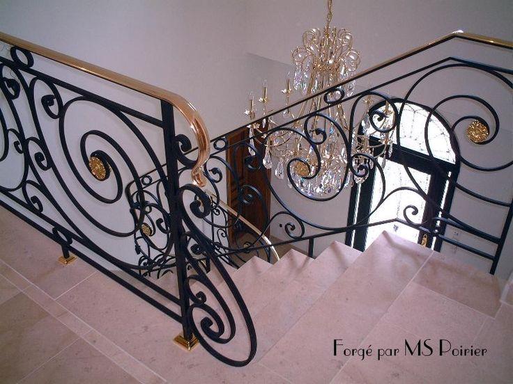 25 best ideas about rampe escalier fer forg sur. Black Bedroom Furniture Sets. Home Design Ideas