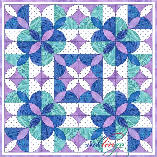 Clamshell Quilt design