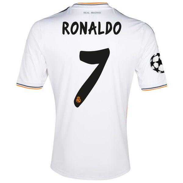 Ronaldo de Camiseta Del Real Madrid Primera Equipacion 2013/2014