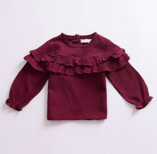 Baby/Toddler Eggplant Peasant Top – Cute Baby Clothes