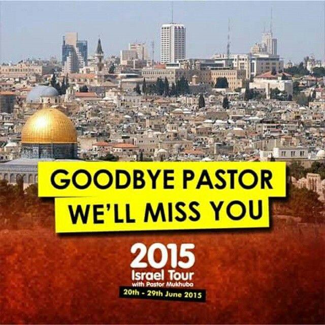 Bye Bye Pastor!