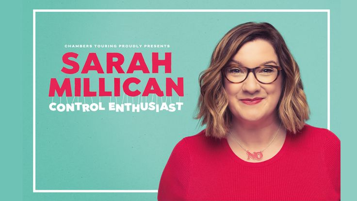 Sarah Millican - CONTROL ENTHUSIAST Tour - EventsnWales   Comedy, Sarah Millican is not a control freak, she's a control enthusiast. She even controls her