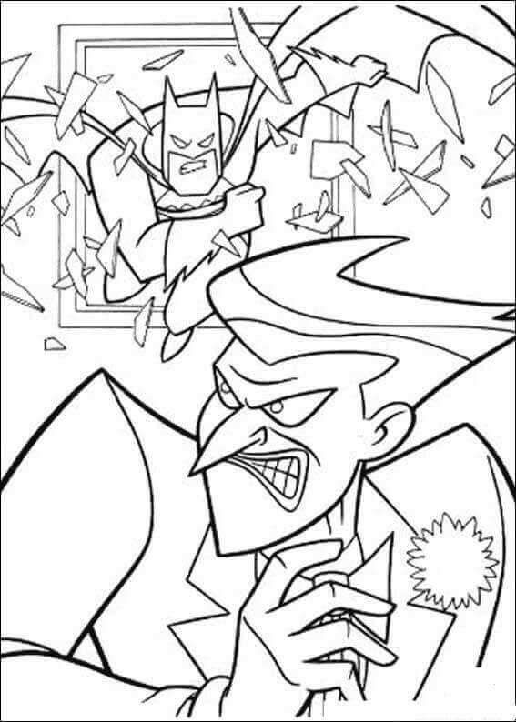 Batman And Joker Coloring Page In 2020 Cartoon Coloring Pages Batman Coloring Pages Coloring Pages Inspirational