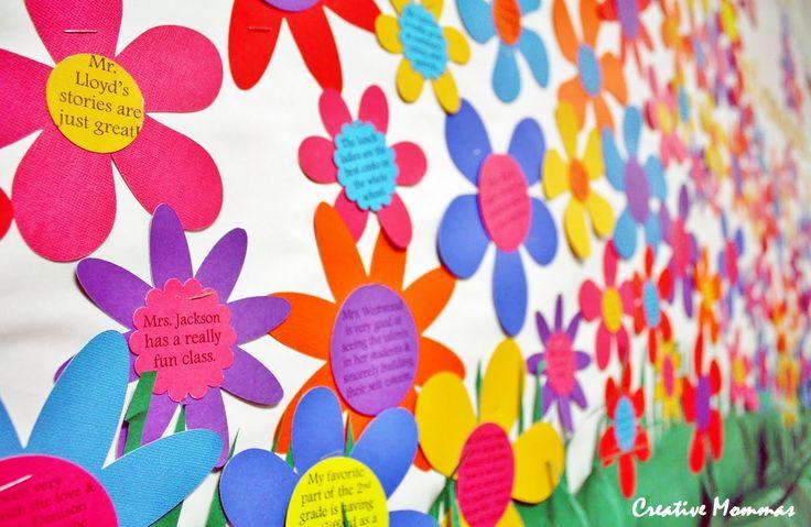 pto bulletin Boards | Creative Mommas: May PTO Teacher Spotlight Bulletin Board