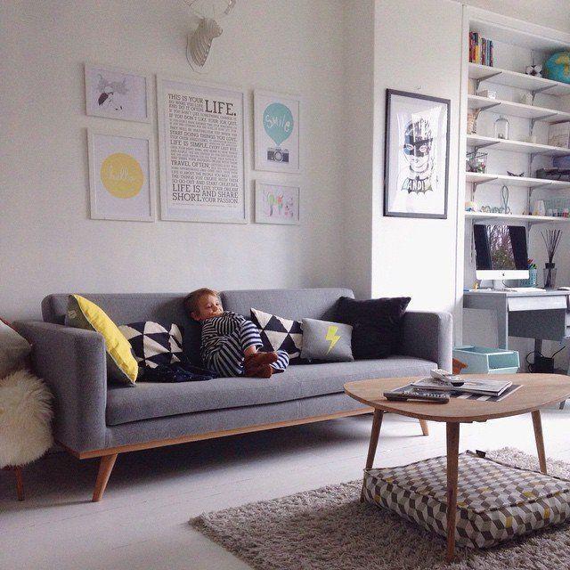 les 49 meilleures images du tableau d co pi ce vivre sur pinterest appartements d co salon. Black Bedroom Furniture Sets. Home Design Ideas