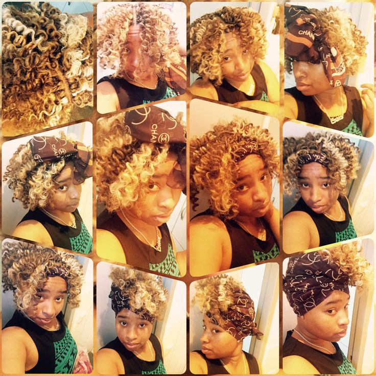Mix With #blond and #brown #crochetbraids! #marley#hair! #Choose#a#protective#hairstyle#that#you#will#love#be#cute#this#can#be#an#inspiration#for#you#great#ideas#for#the#summer#go#to#places#like#a#wedding#and#look#gorgeous#you#are#worth#it#for#only#10#dollars