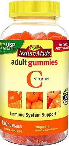 Nature Made Vitamin C Adult Gummies Value Size, 150 Count:   Nature Made Adult Gummies are perfect for adults who want a tastier, more pleasant way to take vitamins and supplements. Our Vitamin C Adult Gummies come in a delicious orange flavor and are a great tasting way to take your vitamins every day.