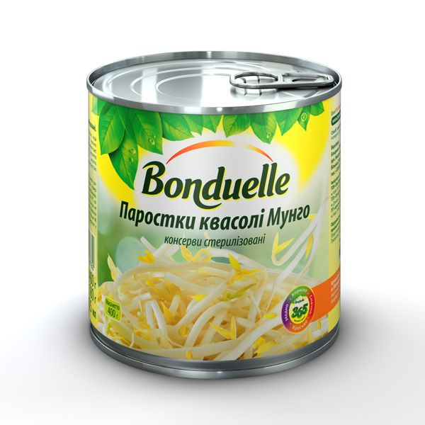 Ростки фасоли мунго салат