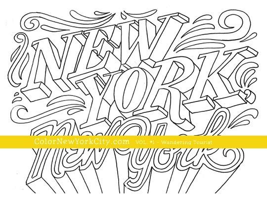new york new york coloring page from the coloring book color new york - New York City Coloring Pages