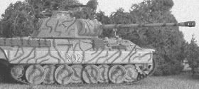 This is the Panther RO2 from the 1.SS-Panzerdivision LSSAH (Leibstandarte SS-Panzerdivision Adolf Hitler). This Panzerdivision fought in Normandy and took part in the failed counterattack in Mortain, loosing all the tanks..