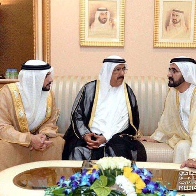 HH Sheikh Mohammed Bin Rashid Almaktoum (UAE Vice President, Prime Minister and Ruler of Dubai), HH Sheikh Hamdan Bin Rashid Almaktoum (Deputy Ruler and Minister of Finance), HH Sheikh Hamdan Bin Mohammed Almaktoum (Crown Prince of Dubai),