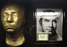 the Death Mask of Bela Lugosi