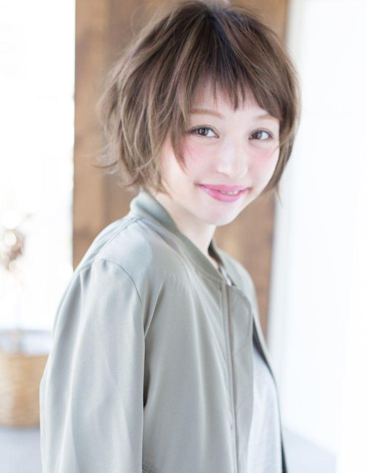 癖毛を活かしながらのカールも可能(KY-144) | ヘアカタログ・髪型・ヘアスタイル|AFLOAT(アフロート)表参道・銀座・名古屋の美容室・美容院