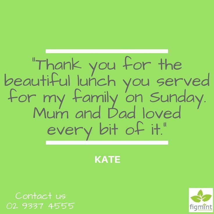 """This is a very belated thank you for the beautiful lunch you served for my family on Sunday. Mum and Dad loved every bit of it; we all did and everyone commented how good the food was! Having you there certainly took all the stress out of it. Many many thanks indeed!"" - Kate  Contact us at 02 9337 4555 for you and your family and friends to experience more memorable moments with Figmint Catering.  #figmintcatering #sydneycaterer #thehighheeledhostess #celebrationswithfigmint"