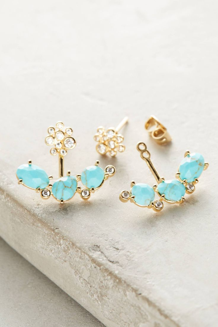Shop The Nanon Frontback Earrings And More Anthropologie At Anthropologie  Today Read Customer