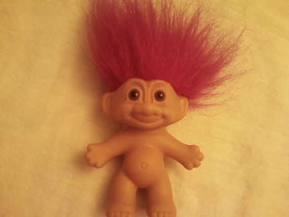 Retro Troll Doll: I'm not sure why these were so popular, but yes, I too was smitten. #Doll #Troll