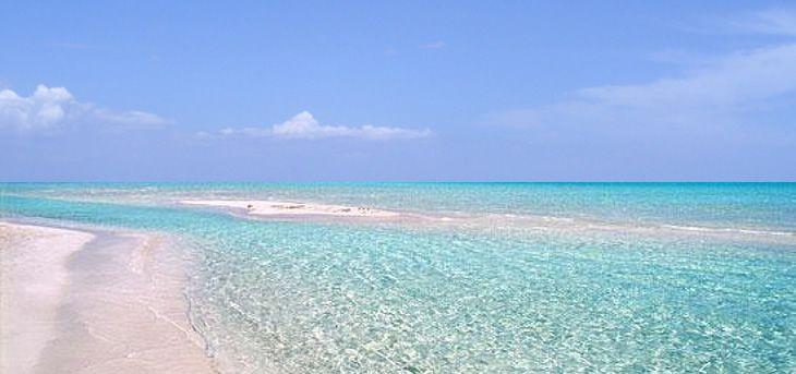The coast of Puglia from Marina di Ginosa to Santa Maria di Leuca ...