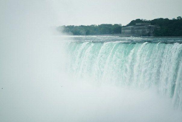 Ниагарский водопад - самый известный водопад в мире. - Путешествуем вместе