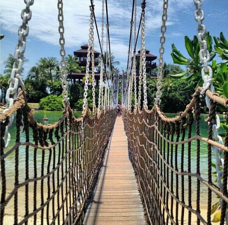 Palawan rope bridge