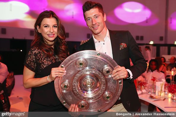 Bayern Munich striker Robert Lewandowski is hoping to end his career in the MLS - preferably in one of the league's Los Angeles teams, according to his wife