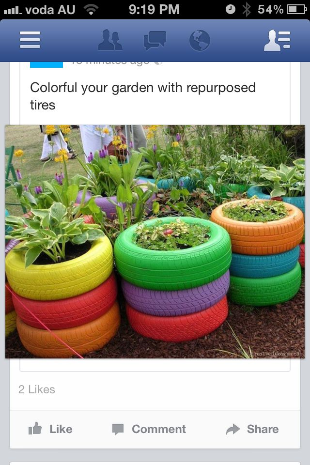 repurposed tyres