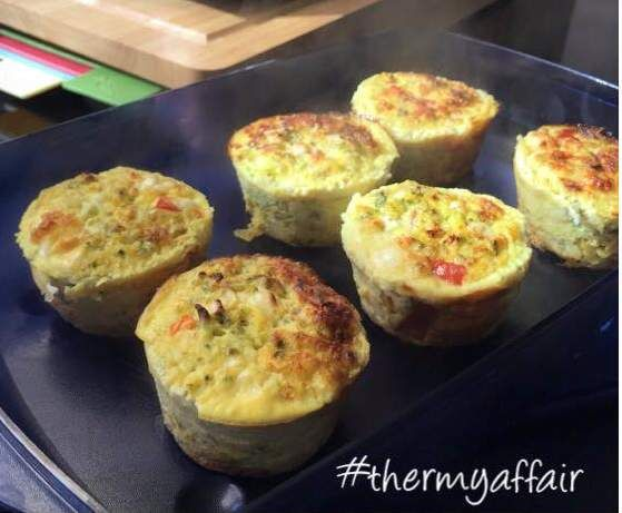 Recipe Breakfast Protein Muffins HCG Compliant by Thermy Affair - Recipe of category Baking - savoury