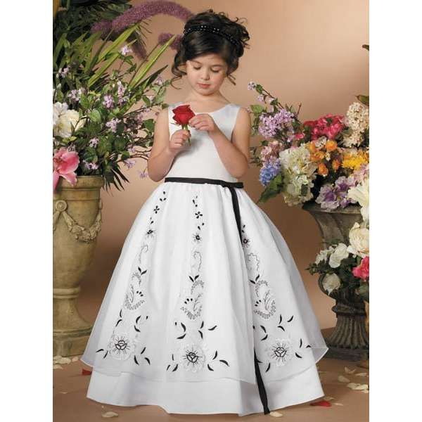 flower girl dress patterns - Google Search