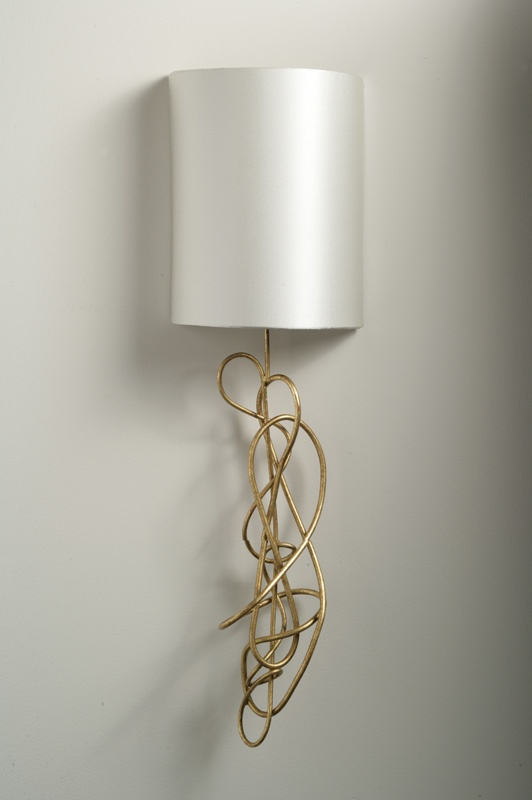 Sculptural lighting from porta romana