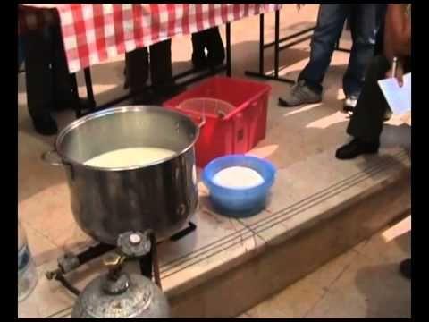 2011-04-20 - Házi sajtkészítés (2. rész) - YouTube