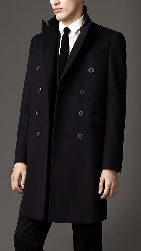 Burberry Double Cashmere Coat