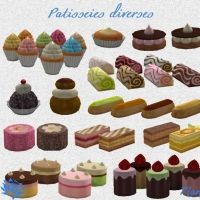 Sims 4 Plaisirs Gourmands Clutters