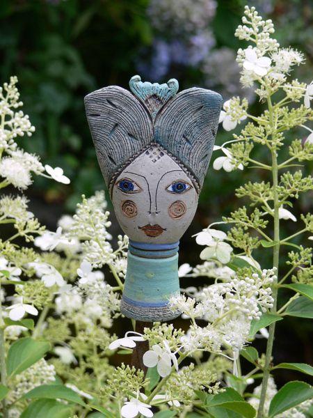 Pflanzen- & Gartenstecker - »Pamina« Miniatur 5 - ein Designerstück von Brigitte_Peglow bei DaWanda