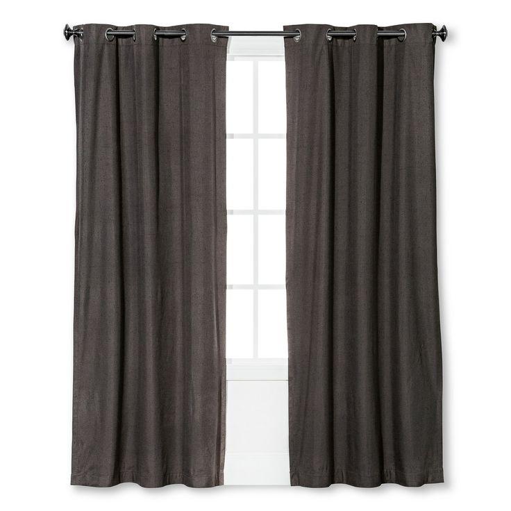 "Windsor Light Blocking Curtain Panel Smoke (42""x84"") - Eclipse™ : Target"