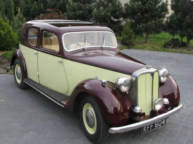 1948 Rover P3