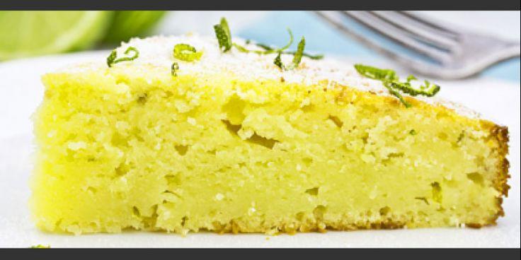 Δροσερό κέικ με γιαούρτι και λεμόνι