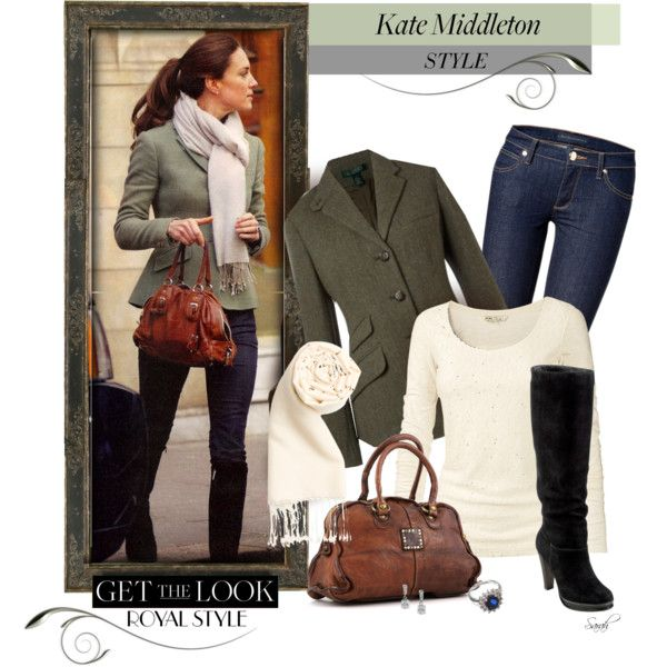 """""""Get the Look - Kate Middleton Style - Elegant Casual"""" by of-simple-things on Polyvore"""