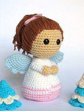 Little Angel Amigurumi Crochet Pattern Pdf E Book Stuffed