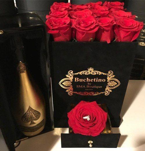 ❤, luxuryflowerbox, and buchetino image