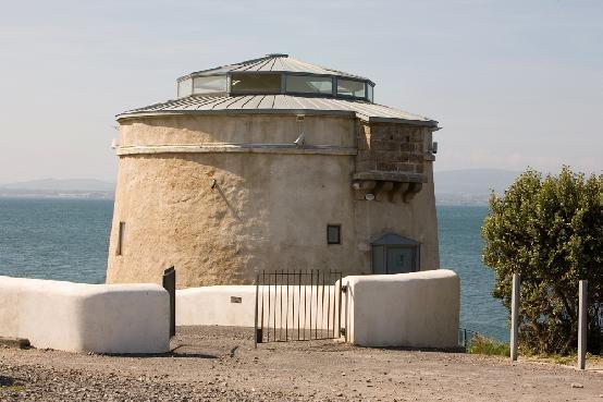 Exterior imagery - Martello Tower Sutton