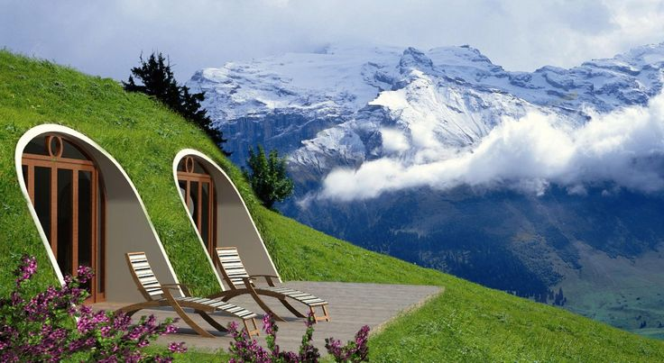 Het bedrijf Green Magic Homes maakt prefab huizen, maar dan heel speciale. Je kan hier een prefab hobbit huis bestellen en overal neerzetten!