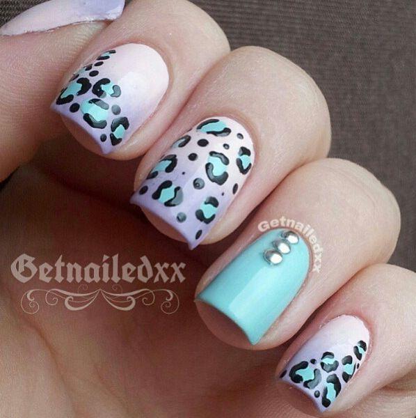 Pastel cheetah print!