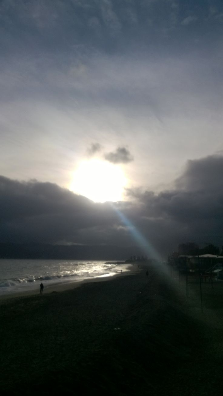 Spiaggia Savona in inverno