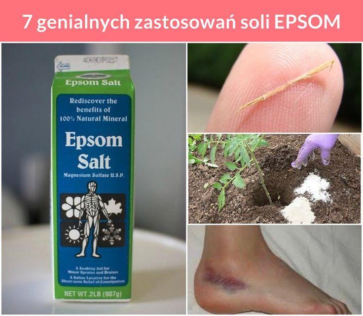 7 genialnych zastosowań soli EPSOM