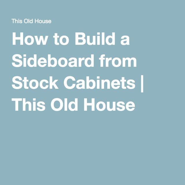 Best 25 Stock Cabinets Ideas On Pinterest