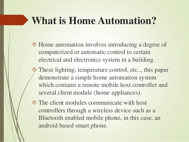 25 Best Ideas About Home Automation Project On Pinterest