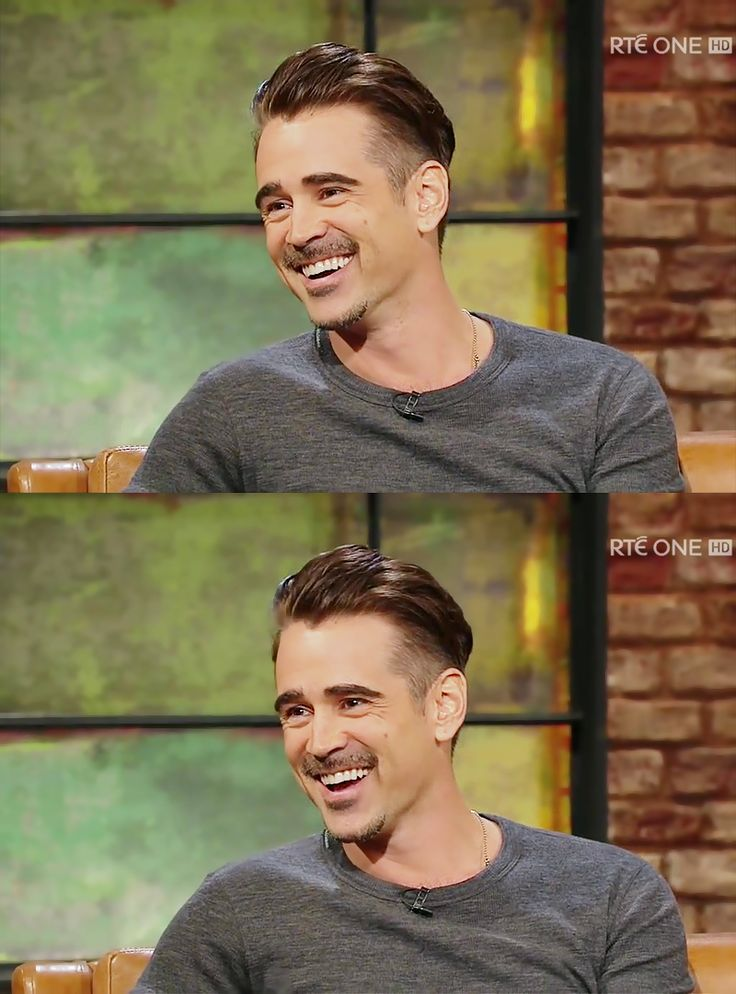 2015-10 LateLateShow Colin Farrell Smile