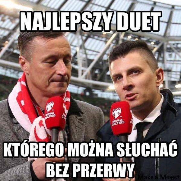 Tomasz Hajto i Mateusz Borek - Najlepszy duet który można słuchać • Memy piłkarskie po meczu Polska Rumunia • Wejdź i zobacz więcej >> #polska #memy #pilkanozna #futbol #smieszne