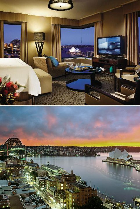 Four Seasons Sydney, the view from our room was breathtaking.