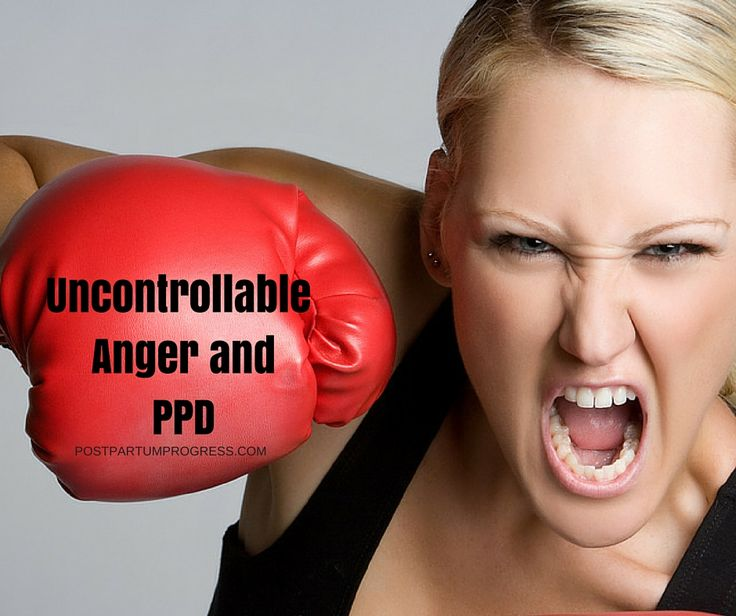 Anger is a symptom of postpartum depression, though most people don't recognize it as one. One mom shares how she dealt with the uncontrollable anger.