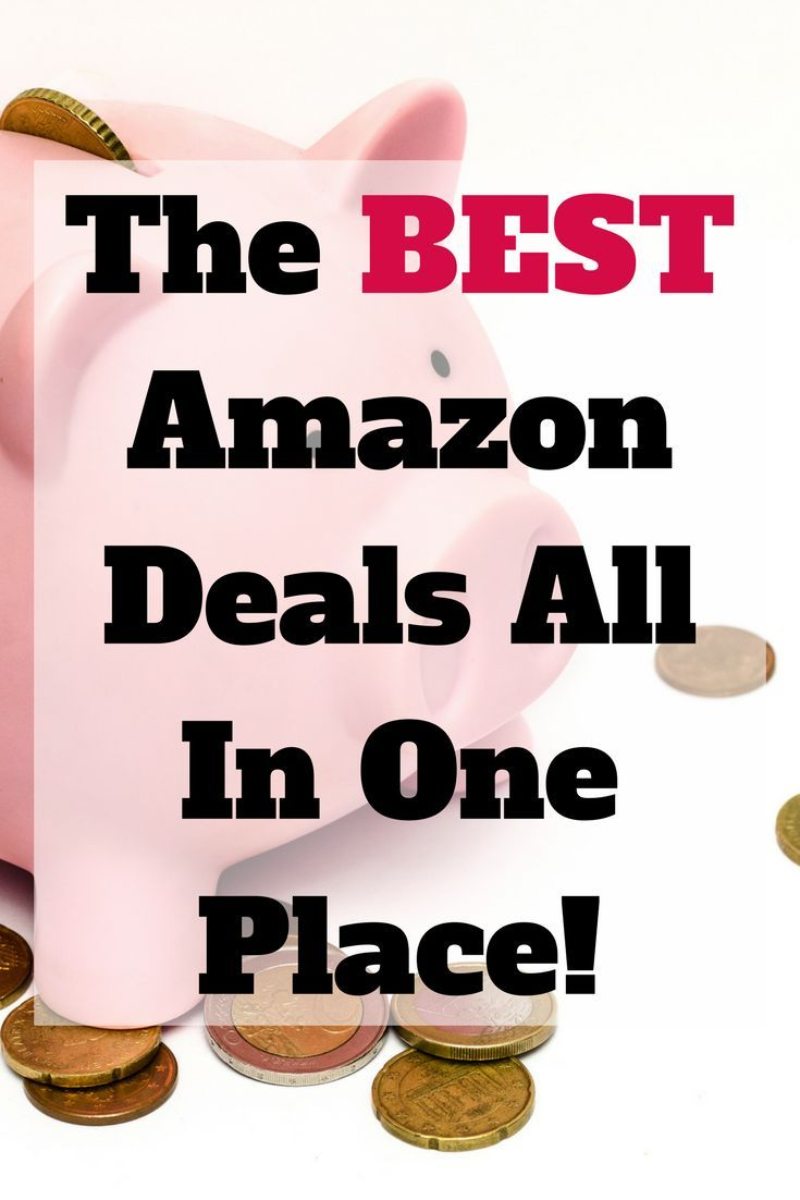 The Best Amazon Deals on the Internet, Updated Daily!